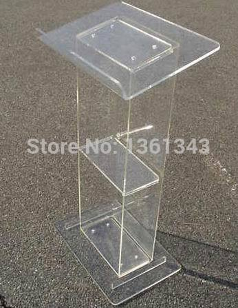 Clear acrylic podium clear acrylic furniture Cleap acrylic podium lectern acrylic podium|Theater Furniture| |  - title=