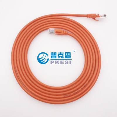 1 mètre super 5 type fil 8 core anaérobie cuivre 0.5 fil fini cat5e paire torsadée KSS1