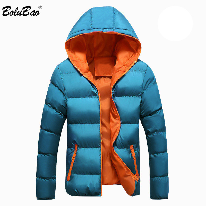 BOLUBAO Men Casual Hooded   Parka   2018 Winter Mens Women Couple Cotton Slim Fit Coat Thick Warm Homme's   Parka   Hooded Outwear