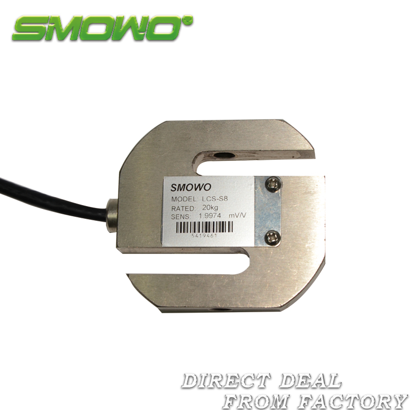 Load cell sensor LCS-S8 S Compression and Tension 20/30/50/100/200kg/ 0.3/0.5/1/2/3/5t load cell sensor lcs h3 50 100 200 300 500 700 1000kg