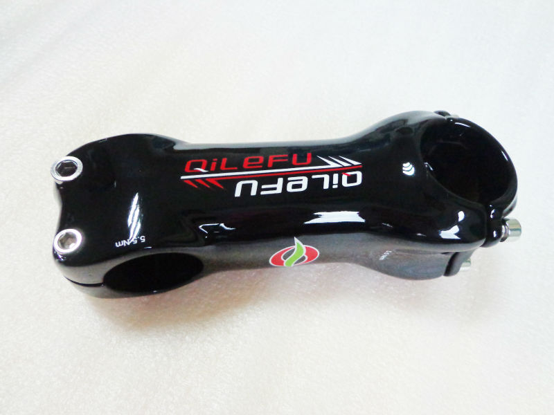 El más nuevo QILEFU 6 17 vástago de bicicleta de carbono de - Ciclismo