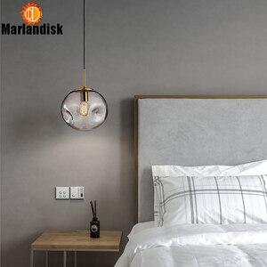 Image 4 - Moderne Stijl Ongelijke Glas Bal Amber/Grijs Graceful Hanglamp E27 Verlichting Voor Eetkamer Woonkamer Showroom Zitten kamer