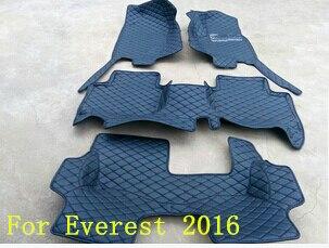 ¡Bueno! Alfombras especiales personalizadas para Ford Everest 7seats - Accesorios de interior de coche