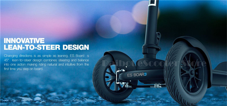 Daibot Electric Tricycle Scooter Three Wheel Electric Scooters 8.5 inch 450W T bar Esboard Folding Kick Scooter For KidsAdults (13)