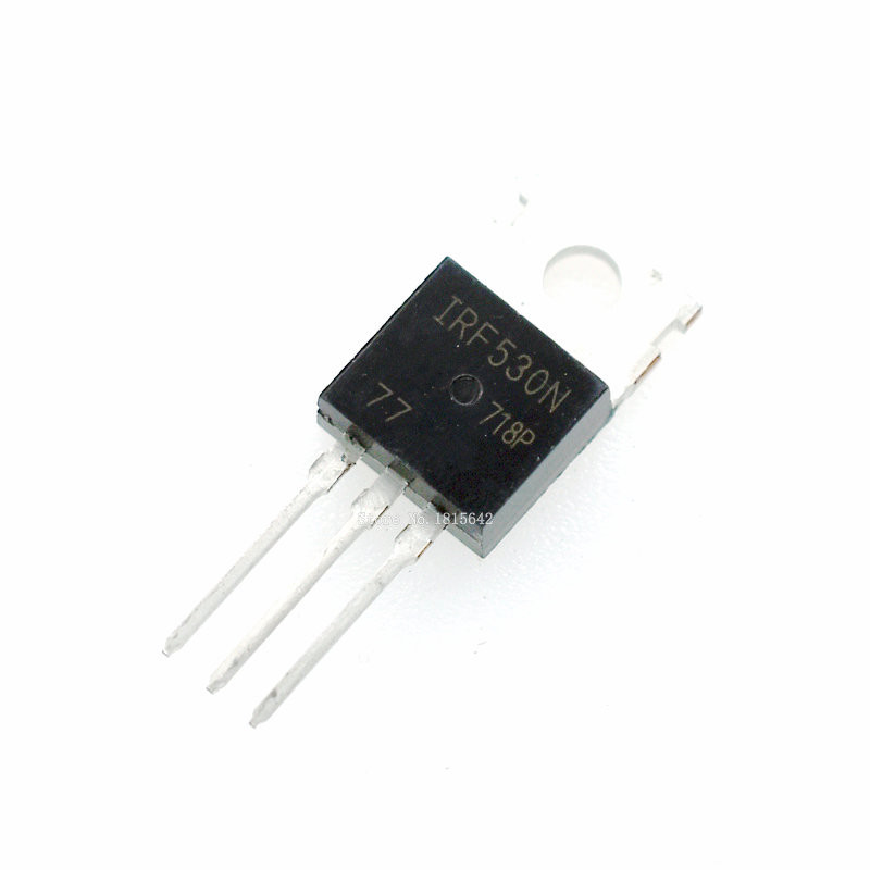 10PCS/LOT IRF530N IRF530 IRF530NPBF MOSFET MOSFT 100V 17A 90mOhm 24.7nC TO-220 New
