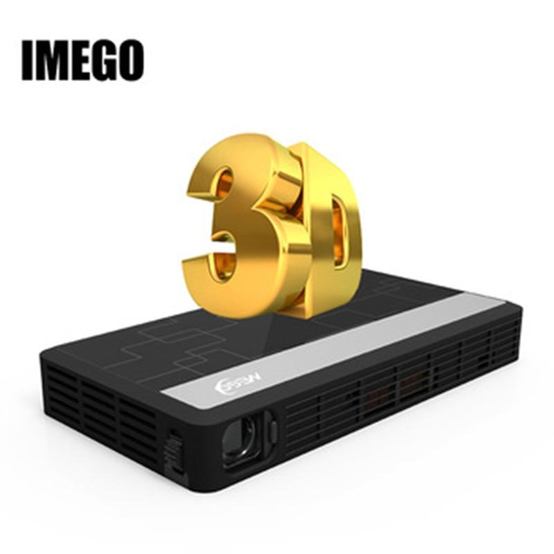 IMEGO Projektor Heimkino 200 Zoll DLP shutter 3D 1080 P Full HD 3D Android h Wifi Suppor DLP TV Beamer
