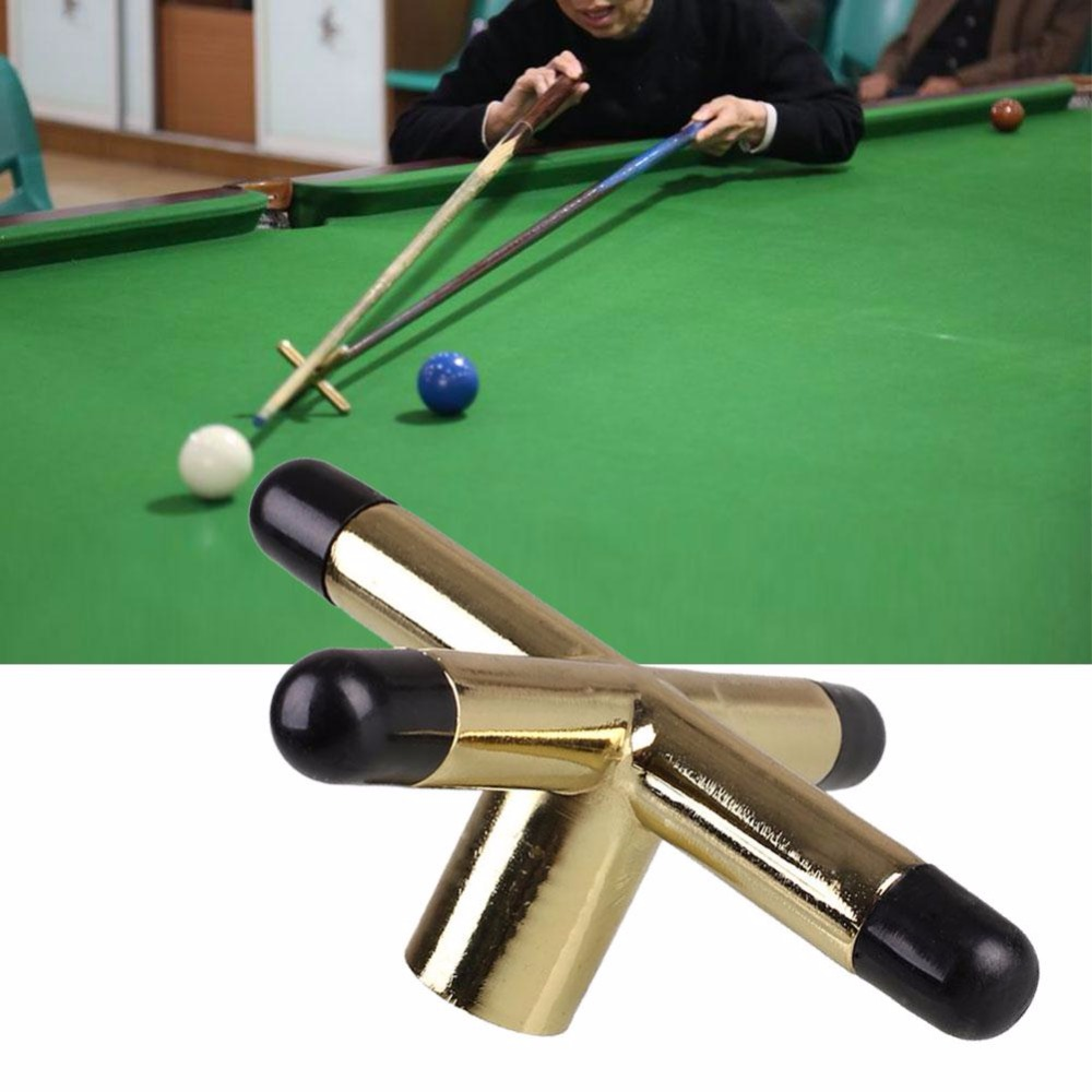 Copper Snooker Pool Cue Cross Head Billiards Rack Bridge Rod Holder Pool  Stick Durable Sturdy Portable Stable  In Snooker U0026 Billiard Accessories  From Sports ...