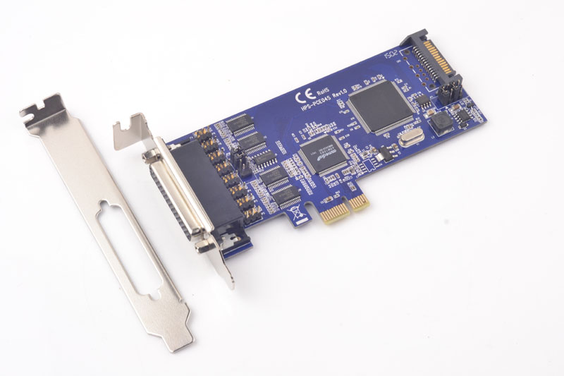 все цены на PCI-E to 4 Port RS232 Serial Card TTL 5V 12V Option Supply Power 16C1054 Chipset онлайн