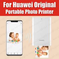 Impresora AR 300dpi Original Huawei Zink impresora de fotos portátil Honor impresora de bolsillo Bluetooth 4,1 soporte DIY compartir 500mAh