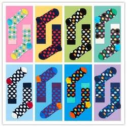 2017 Коллекция носков волновой точки хлопок на кафедре колледж мужчин и женщин Носки для девочек любителей в ветер 36- 45 товара