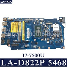 Kefu BKD40 LA-D822P ноутбука материнская плата для Dell Vostro 5468 5568 Inspiron 7460 7560 Тесты Оригинал материнская плата I7-7500U