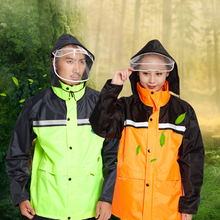 Outdoor Yellow Poncho Poncho Backpacksuit Women Motorcycle Bicycle Poncho Universal Camping Abrigos Hombre Pants Set Suit 6R79