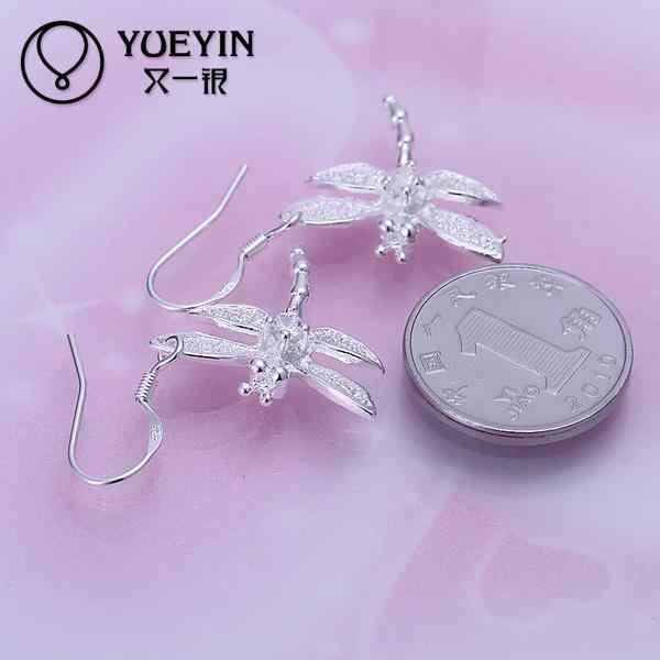 Động vật dễ thương bông tai Bán Buôn bạc mạ dài Earrings Dangle đối với phụ nữ cưới trang sức đồ trang sức Cổ Điển