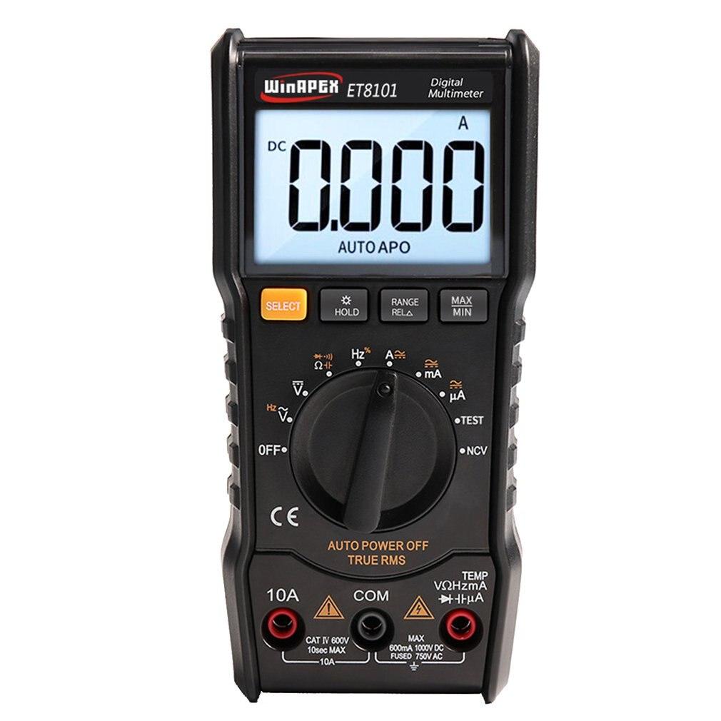 Winapex 6000 Counts Digital Multimeter Full Protection Mini Multifunction Handheld Multi Meter Induction Meter Clamp