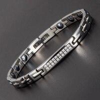 New Full Rose Gold Plated Fashion Bracelet Jewelry Energy Health High Pure Germanium 99 99 Bracelet