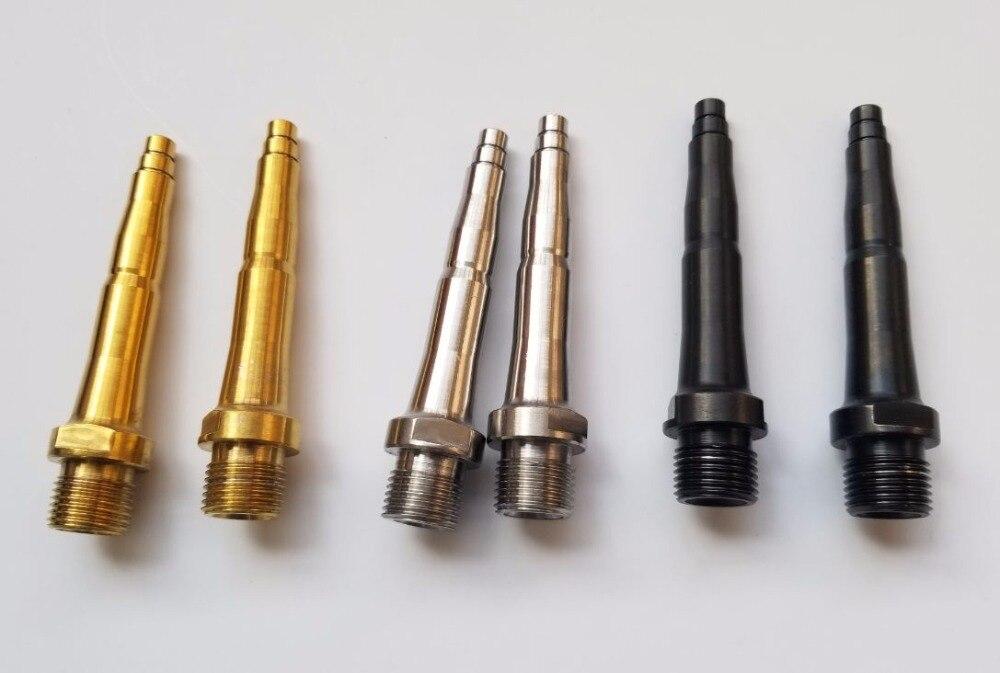 Broches de pédale en titane/Ti/ajustement de l'essieu SpeedPlay Zero, X1, X2 et Action Ultra légère