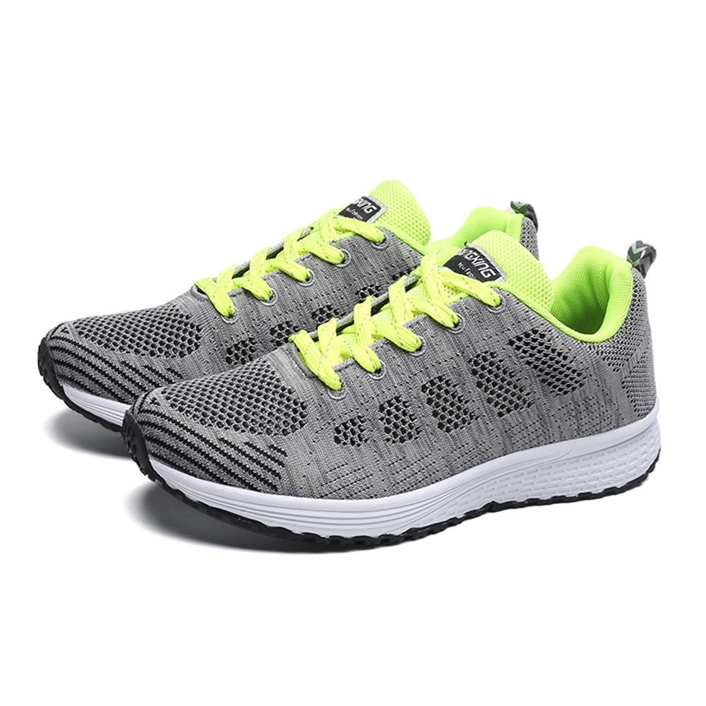 Fitness Casual verde Estilo Planas Para Malla Hombre Alto Correr Moda Con Negro Superior Zapatos De 0vxqwOp0