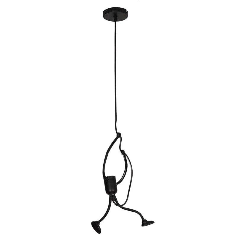 Modern Charming Hanging Chandelier Creative Iron People Lamp Elegant Hanger  (2)