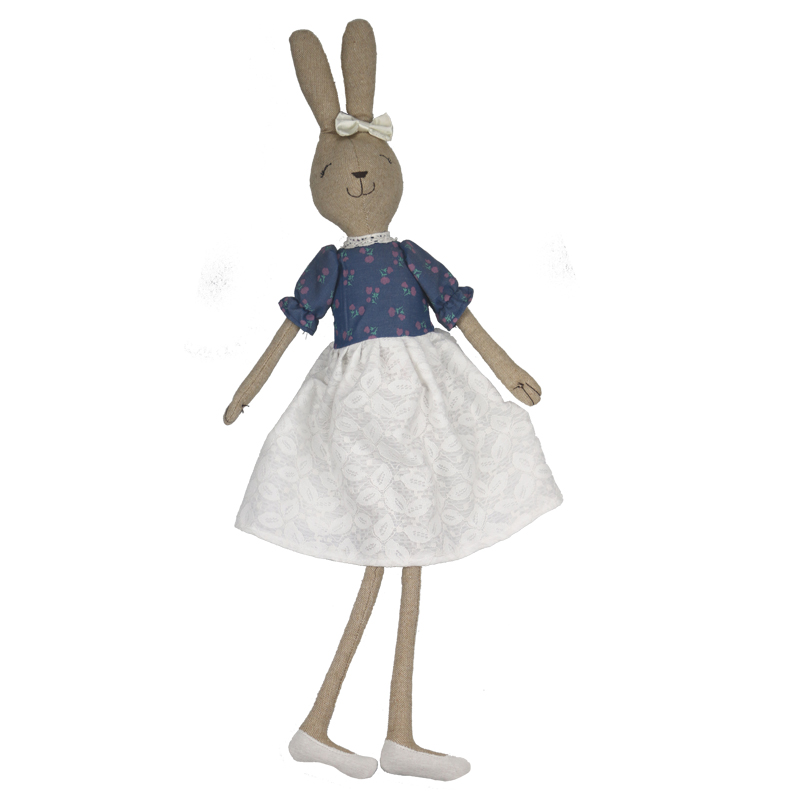 75 cm Cute rabbit doll plush doll cute rabbit toy Easter gift dress doll 60cm new queen couple rabbit plush toy of peter rabbit doll wearing glasses rabbit doll valentine s day gift