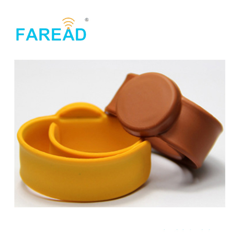 X100pcs Free Shipping RFID Wristband 125khz T5577  For  Theme Park, Ticket System And Harsh Environment