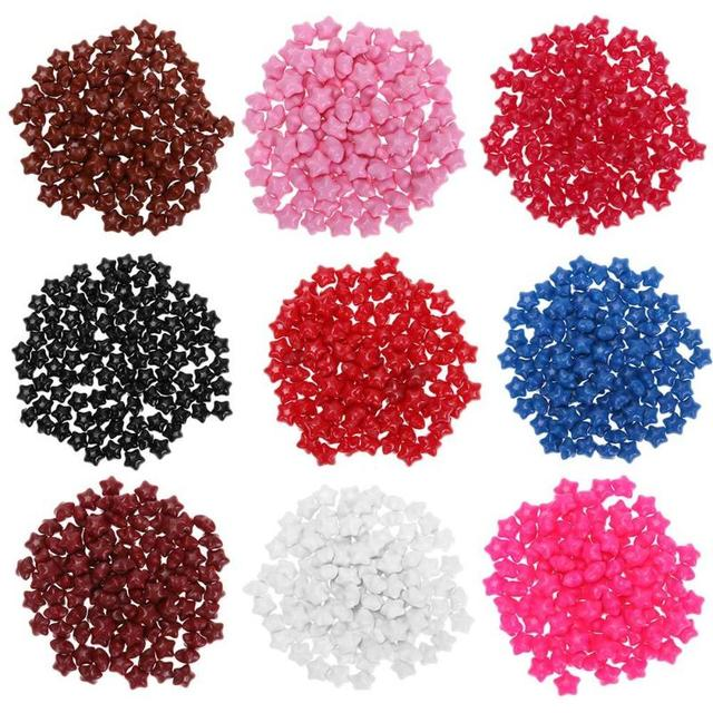 100pcs Set Five Pointed Star Sealing Wax Tablet Pill Beads Stamp Paint Envelope Wedding Card Waxs