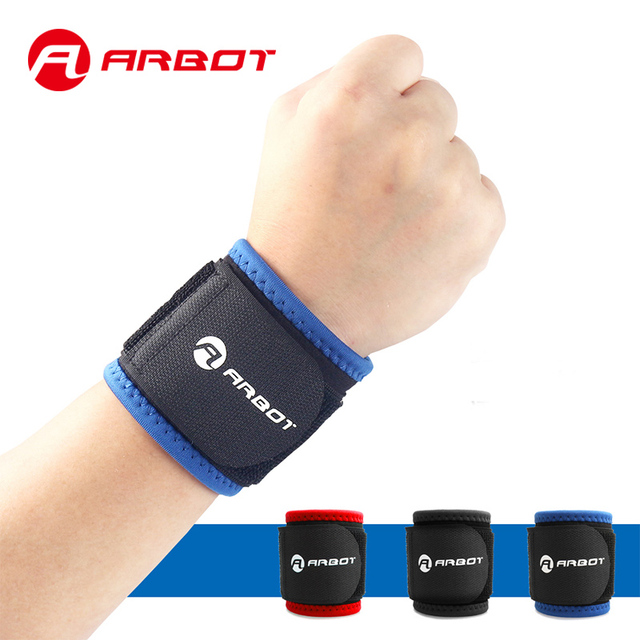 US $9 06 |Arbot Sports Gym Wrist Support Wrap Basketball Fitness Hand  Wristband Bandage Pressure Hand Protect Wristlet fitbit alta-in Wrist  Support