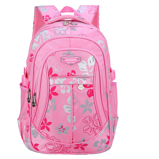 New Floral Printing School Bag Backpack For Teenage Girls Cute Trendy Children School Bags for Teenagers Student Satchel
