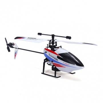 WLtoys V911 V2 BNF Body Only V911-2 4CH RC Helicopter 2.4G without Transmitter v911 2 nose shell vertical tail for wl v911 r c aircraft black red