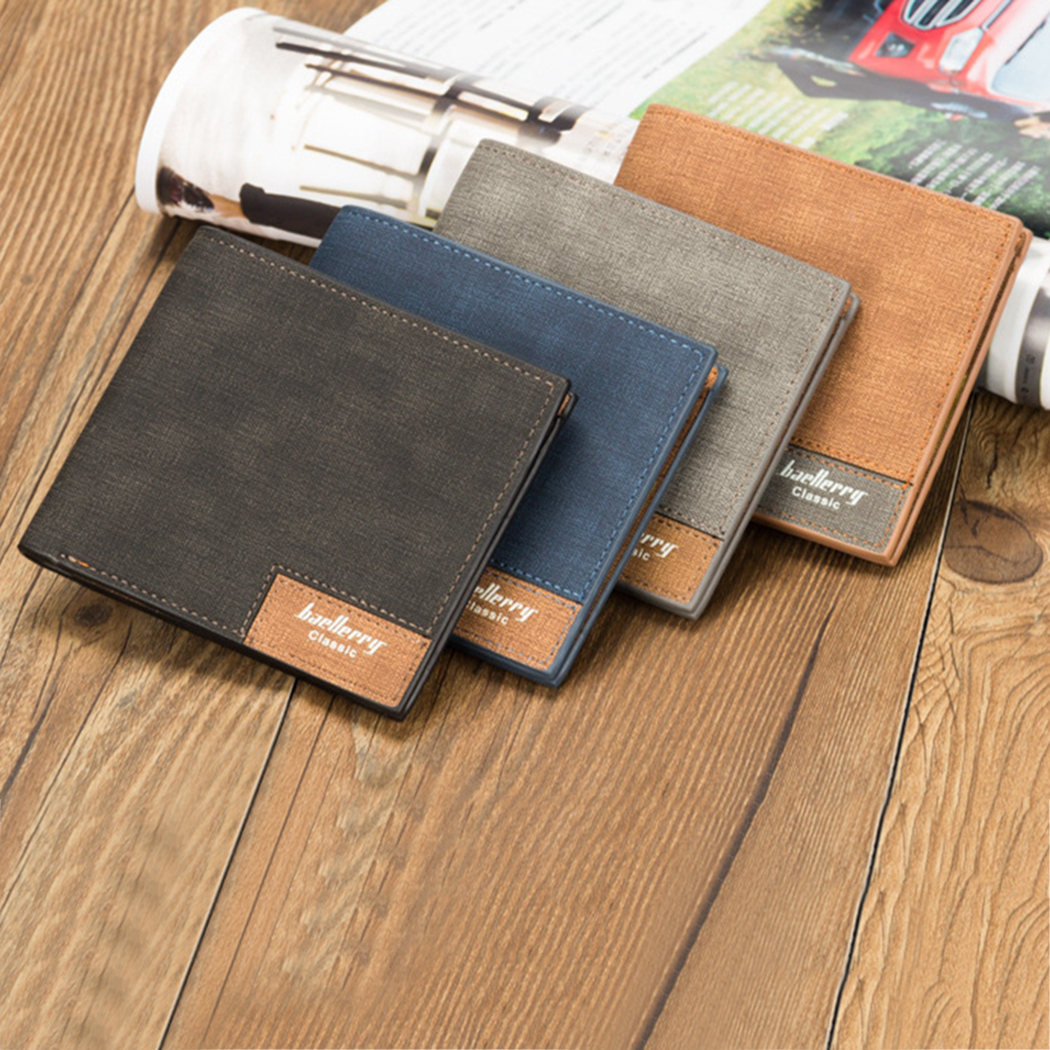 Vintage Designer Leather Men Short Wallet Super Thin Slim Purse Card Holder Coin Pocket Male Small Wallets bogesi men s wallets famous brand pu leather wallets with wallet card holder thin slim pocket coin purse price in us dollars