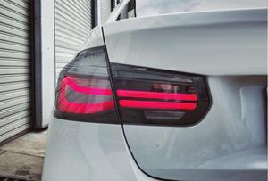 Image 4 - רכב סטיילינג עבור BMW F35 טאיליט, F30,2013 ~ 2017, הרכבה עבור 318i 318Li 320i אחורי אורות ייעודי led טאיליט אור 4pcs