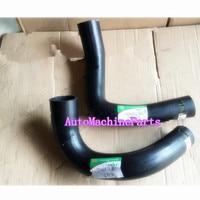 Upper&Lower Radiator Hose For Hitachi EX60 Excavator For Isuzu 4JB1 Engine