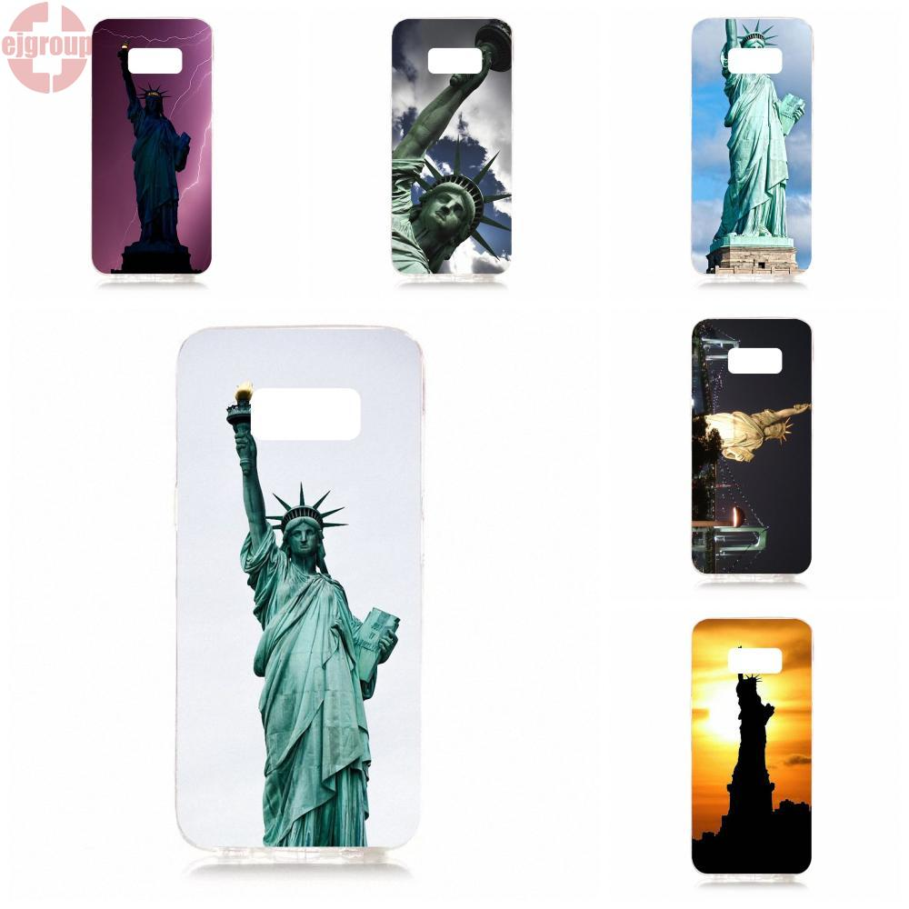 EJGROUP Soft TPU Silicon Top Selling New York City Ny Statue Of Liberty For Samsung Galaxy S8 5.8 inch G950 G950F SM-G9500