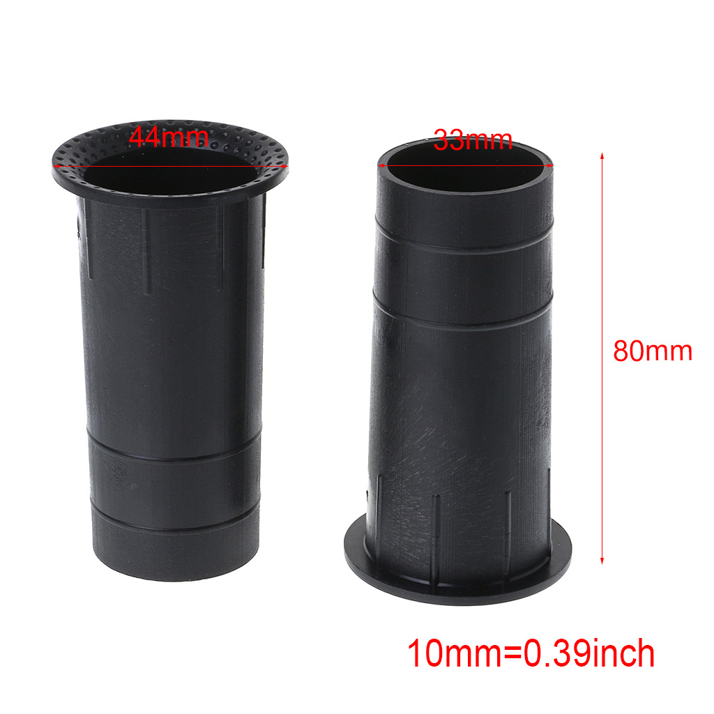 2PCS Speaker Port Tube Bass Reflex Vent Connector 3-5