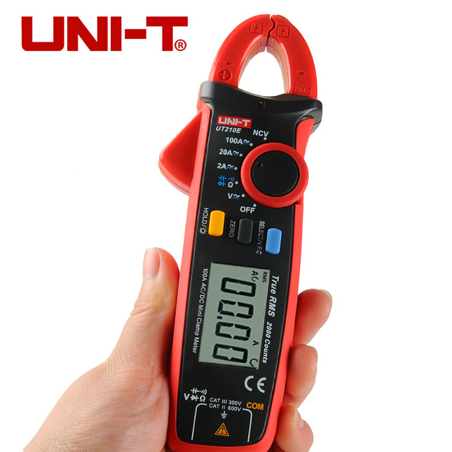 Mini Clamp Meters : Uni t ut e digital multimeter true rms ac dc current