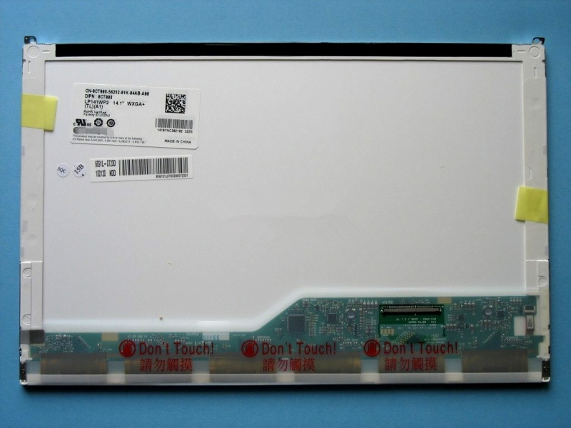 Quying 14.1laptop LCD  screen LTN141BT01  1440*900 50PIN for DELL notbook