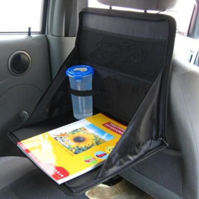 BBQFUKA Car Mounts Front Seat Back Food Work Station Desk Versatile Table Tray Cargo