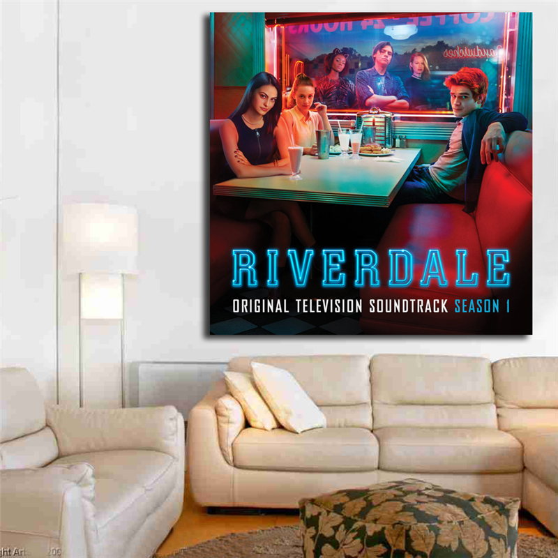 Riverdale Soundtrack Season One Canvas Painting Print Living Room Home Decor Modern Wall Art Oil Painting Poster Salon Pictures image