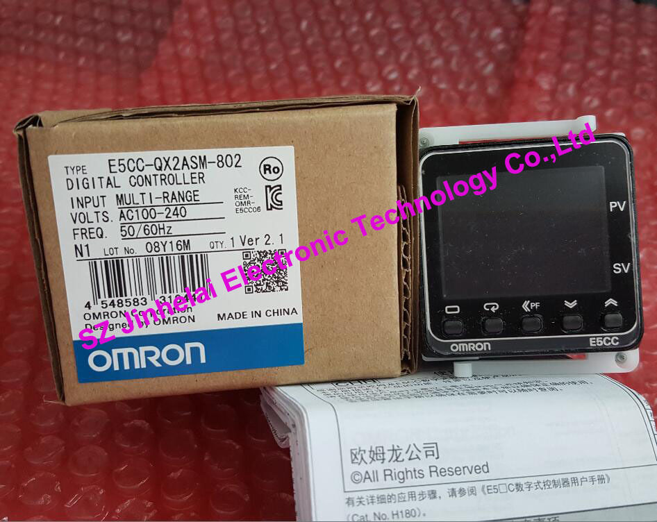 New and original E5CC-QX2ASM-802 OMRON DIGTAL CONTROLLER все цены