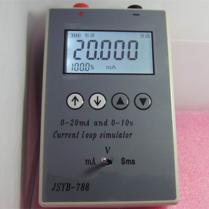 4-20MA/0-10V Current Voltage Signal Source Signal Generator Handheld Calibrator 4-20ma current signal generator 4-20ma generator
