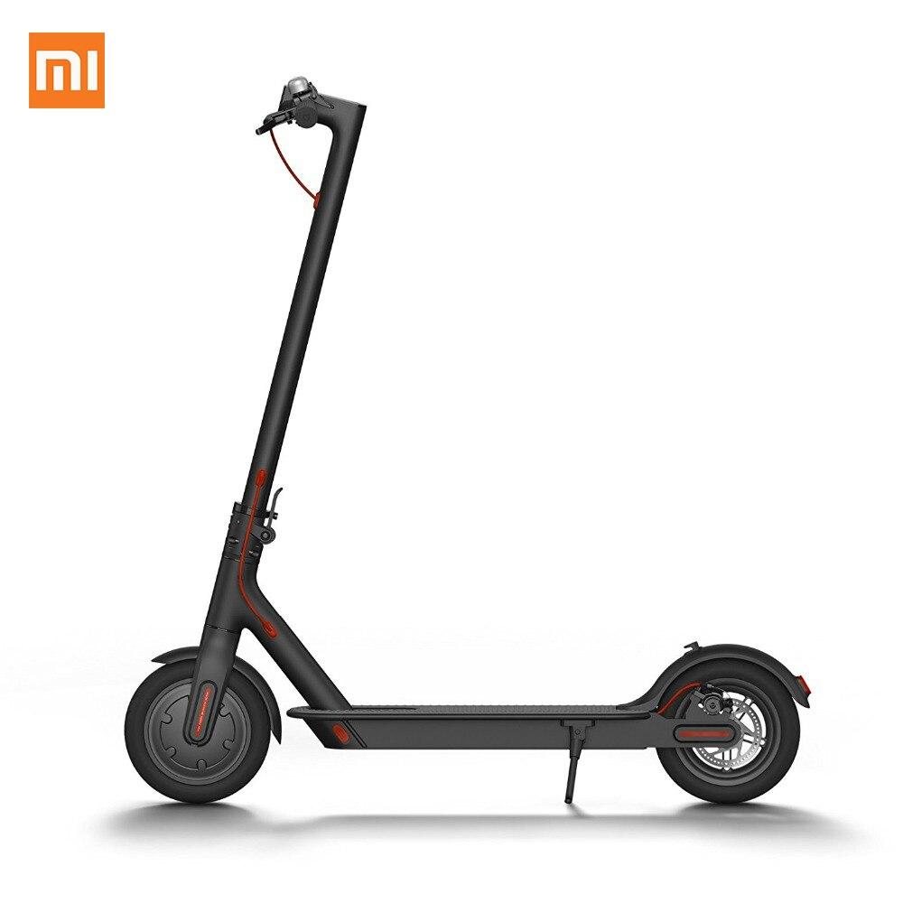 Xiao mi mi scooter M365-PATINETE electrico Plegable, 30 km alcance, 25 km/h, negro Hoverboard e Skate elettrici electricas