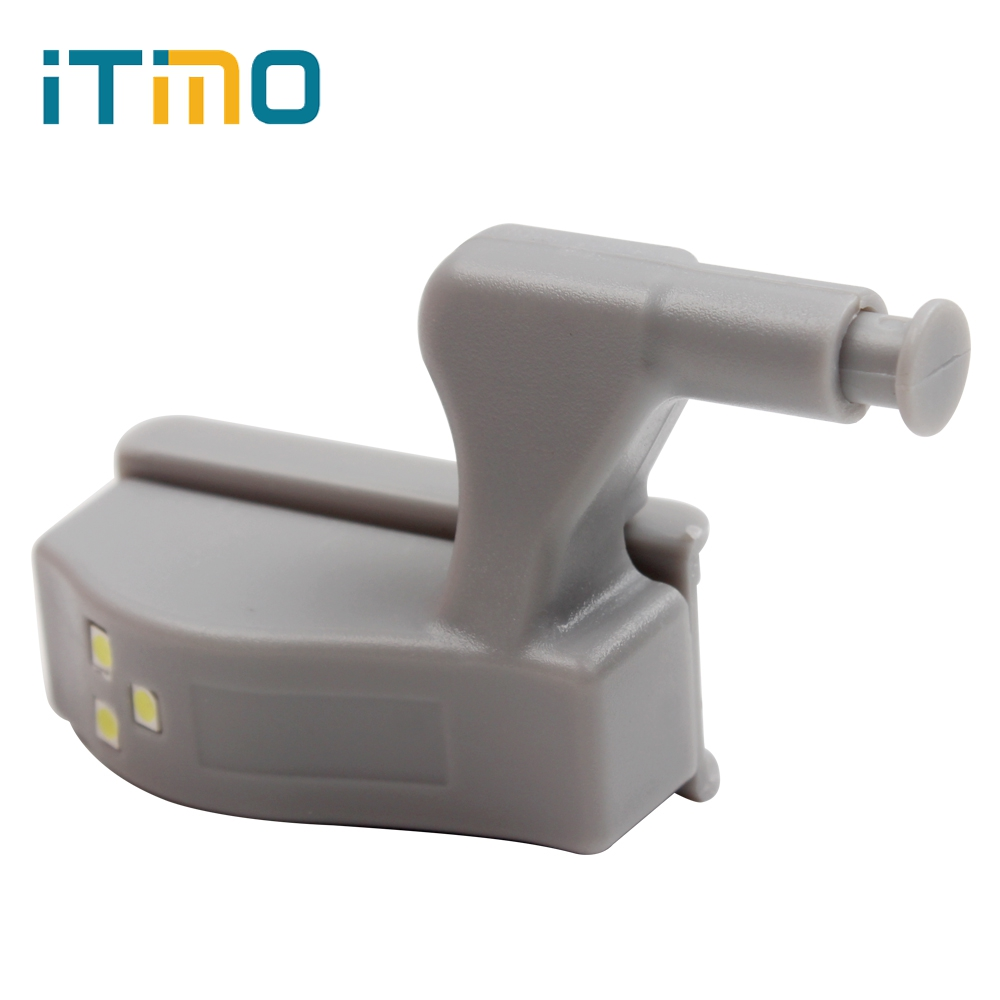 ITimo 3 LEDs Practical Cabinet Wardrobe Battery Lights Cabin Lamp Door Autoswitch LED Night Light