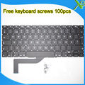 "5PCS---Brand New For MacBook Pro Retina 15.4"" A1398 SE Swedish Sweden keyboard+100pcs keyboard screws 2013-2015 Years"