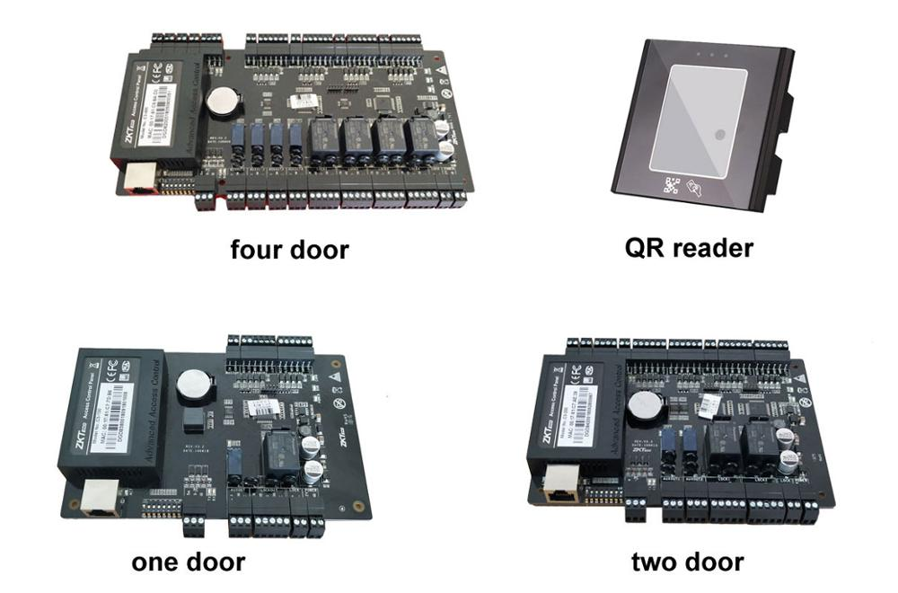 One /two /Four Door Access control TCP/RS485 option Aided Input and Output support RFID QR reader