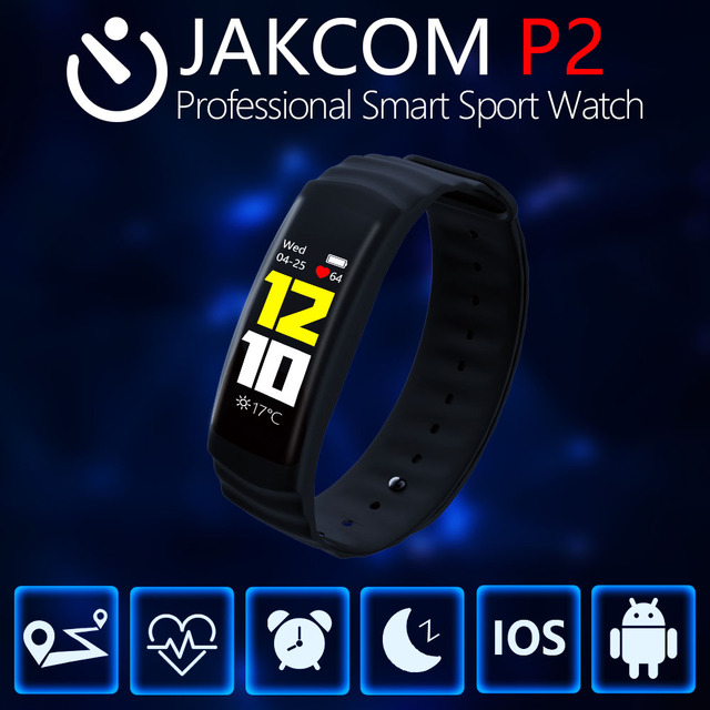 JAKCOM P2 Professional Smart Sport Hot sale in Telephone parts as Communication Touch Screen heart Rate
