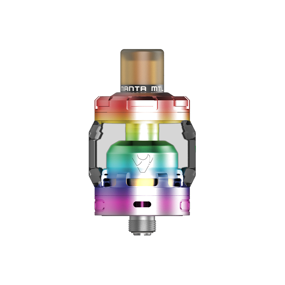 Original Advken MANTA MTL RTA 3ml Capacity with Single Coil MTL RTA 24mm Atomizer & 510 Drip Tip Ecigarette MANTA MTL RTA Tank