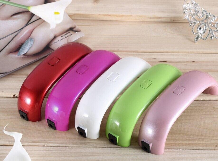 9W Mini Nail Dryer LED Lamp For Curing Nail Dryer Nail Gel Polish ...