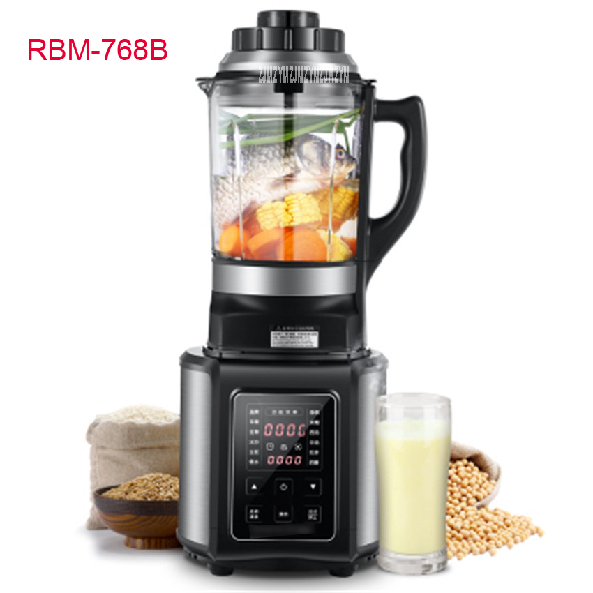 RBM-768B 2200W Home automatic multi - functional fruit and vegetable ice sand bean milk mixer fried fruit juice broken machine vegetable cowpea and yard long bean