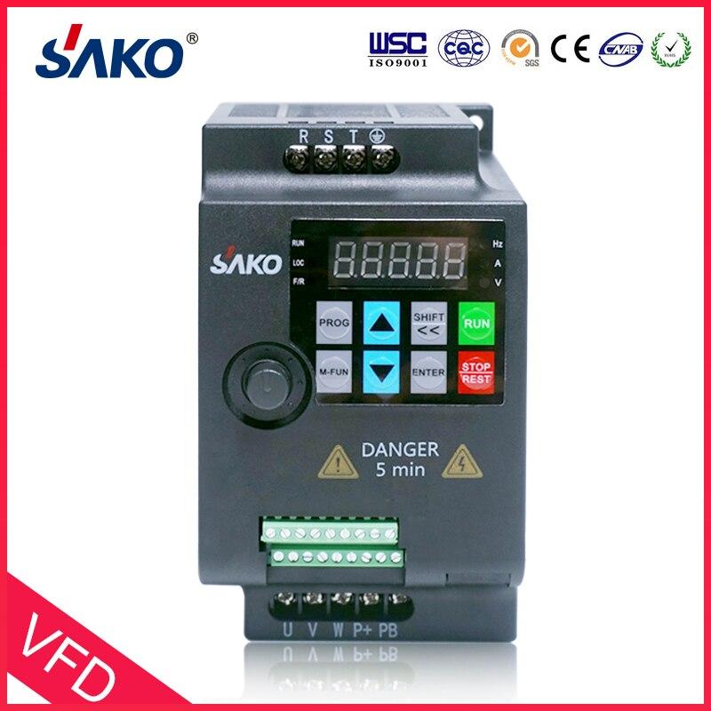 SAKO SKI780 380V 0.75KW/1.5KW/2.2KW Mini VFD variateur de fréquence pour convertisseur de contrôle de vitesse de moteur - 2