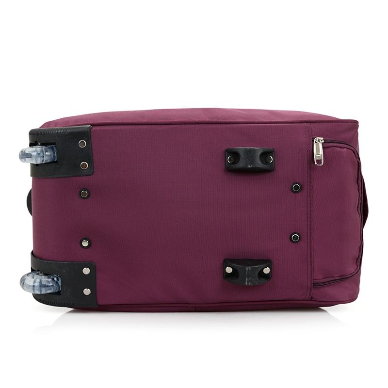 LHLYSGS Brand Women Fashion Cart Tug Case Wheels Travel Trolley Bag Hand  Luggage Travel Bag Men Waterproof Suitcase Duffle Bag-in Travel Bags from  Luggage ... 0a60435ec2097