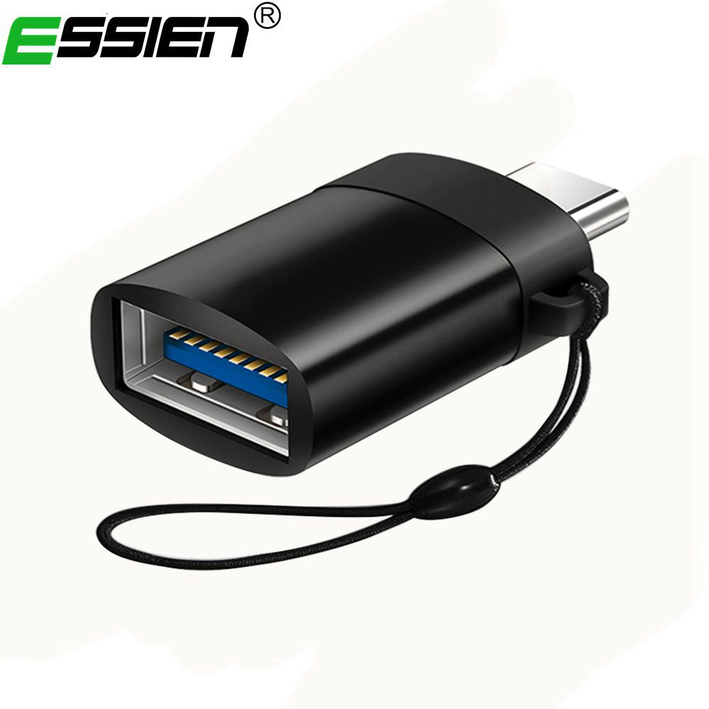 Essien USB 3.1 Type C to USB 3.0 Adapter USB Type-C OTG Adapter for Chromebook Macbook Huawei P9 Xiaomi 4C Nexus 5X 6P LG G5 ...